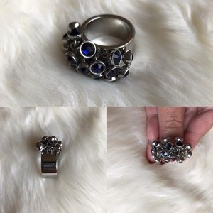 Swatch stone ring